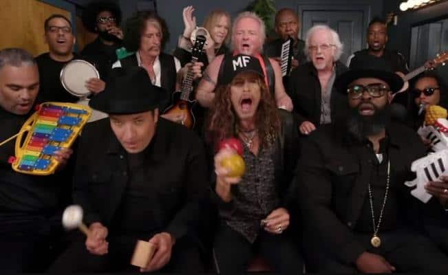 Aerosmith toca