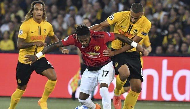 Manchester United superó de manera cómoda a Young Boys
