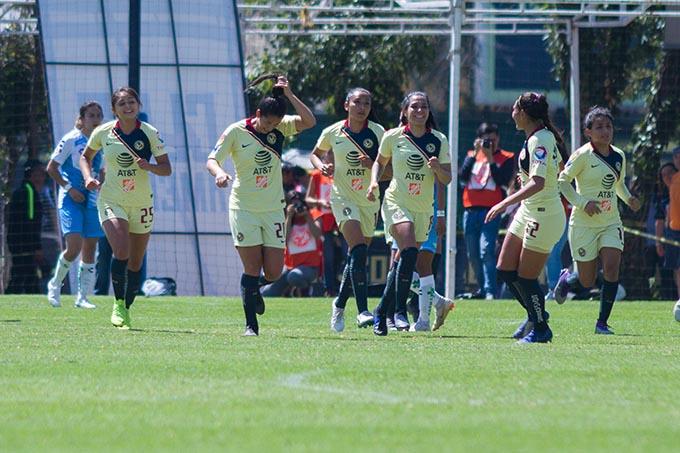 América frena a Pachuca en la Liga MX femenil