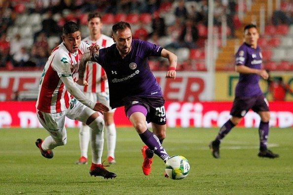 Enfrentamiento entre el Necaxa y Toluca terminó en empate 1-1