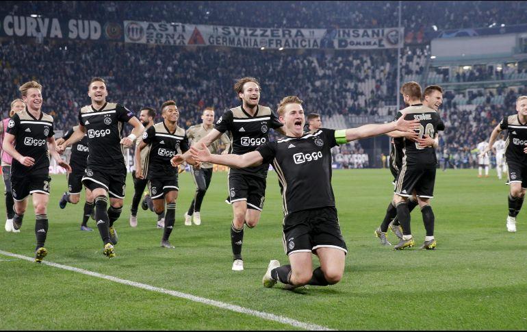 Ajax Juventus Twitter: El Ajax Derrota A La Juventus De Cristiano Ronaldo