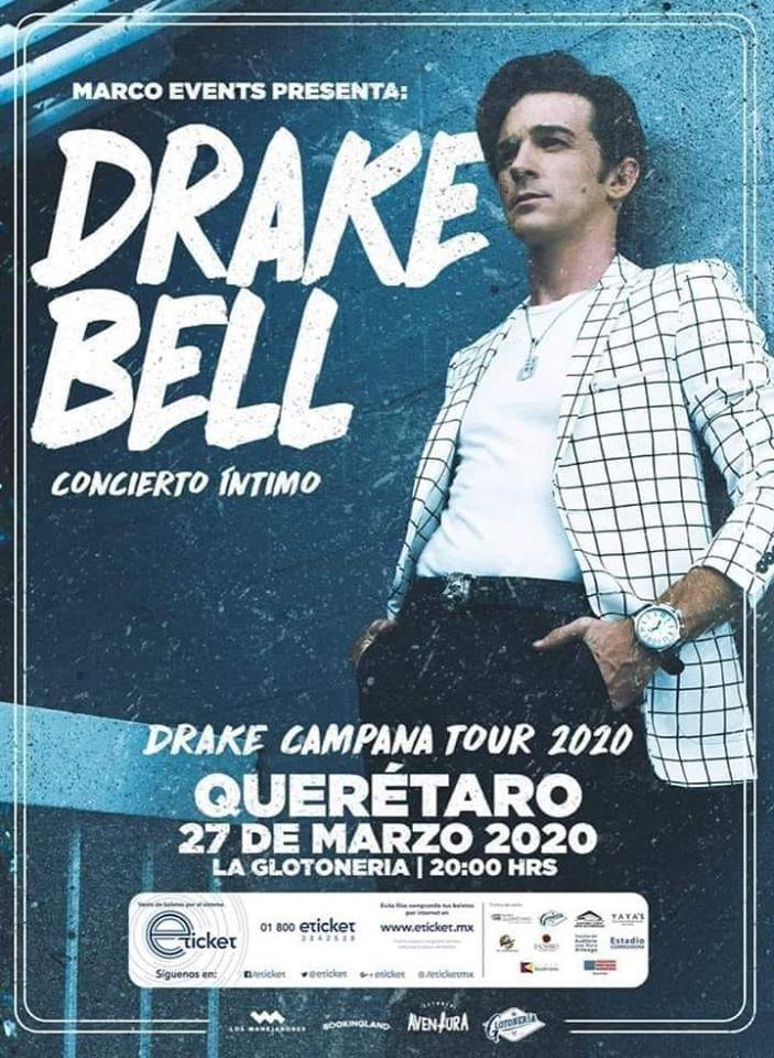 Drake Bell Llega Por Primera Vez A Queretaro En Concierto Intimo