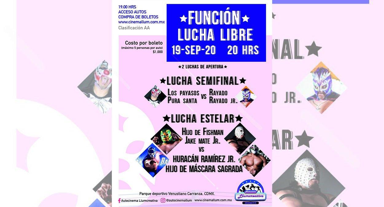 Autocinema Llumcreativa El Parque abre sus puertas este fin de semana con  grandes shows